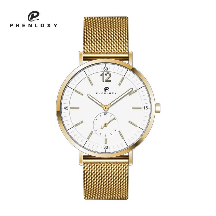 Watch factory 3atm water-resistant men simple stainless steel wristwatches